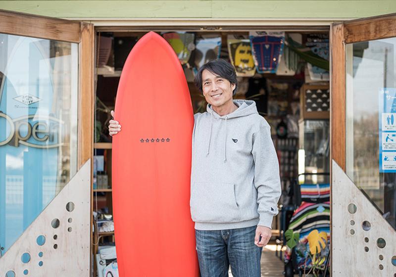 「地元鉾田の海でサーフィンのメッカを作る」それがUターンで叶えた夢